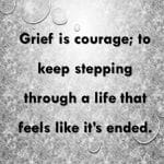 dating realties of widows grief